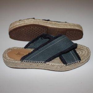 G.H. Bass & Co. Anabelle Platform Sandal - Navy